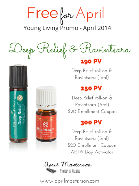 Young Living Promotion April 2014
