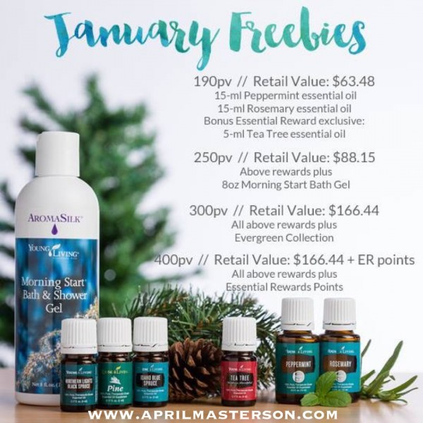 January 2016 Young Living Promotion