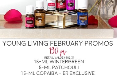 Young Living February 2016 Promotion