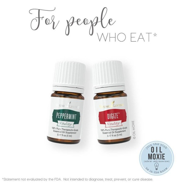 Peppermint Vitality and DiGize Vitality