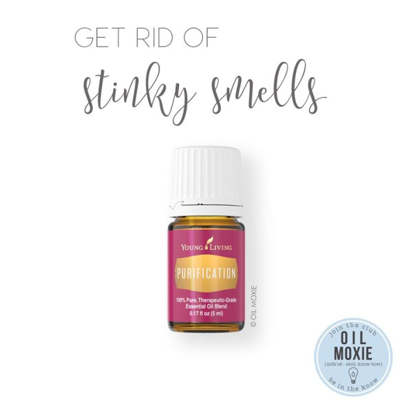 How to buy young living essential oils april masterson for How to get rid of fish odor syndrome