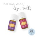 Essential Oils and Wool Dryer Balls