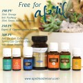 Young Living April 2016 Promotion