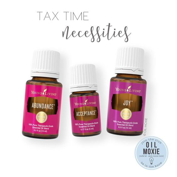 Tax Time Essential Oils