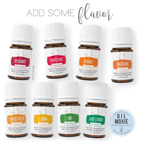 Add some flavor with essential oils