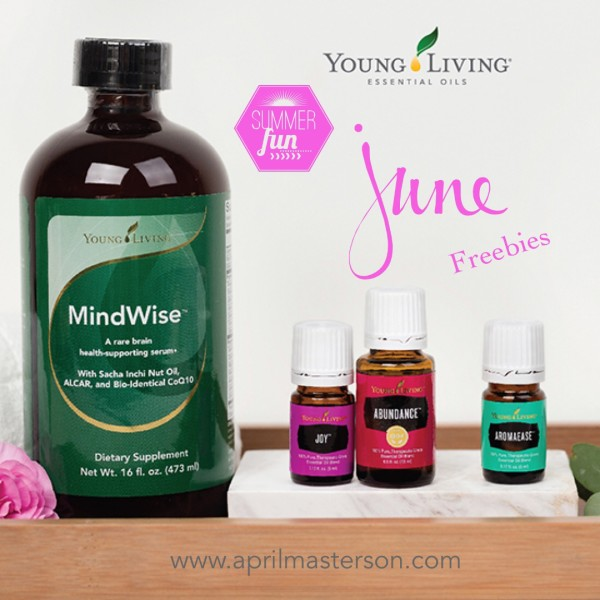 June 2016 Young Living Promotion