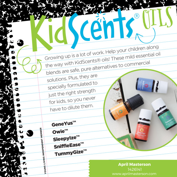 Young Living KidScents Oils