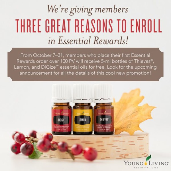 Essential Rewards Free oils