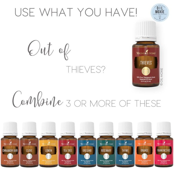 Alternatives to Thieves essential oil