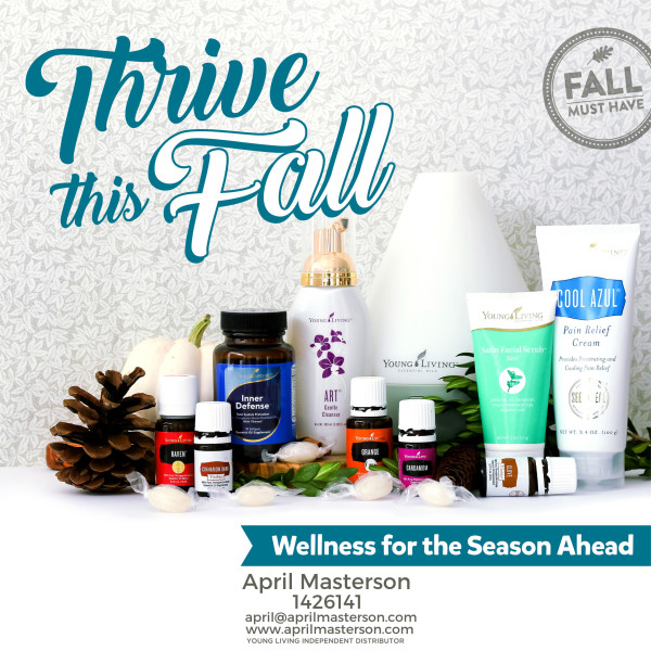 Young Living products for fall