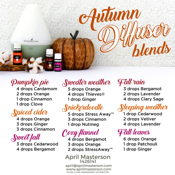Fall diffuser recipes