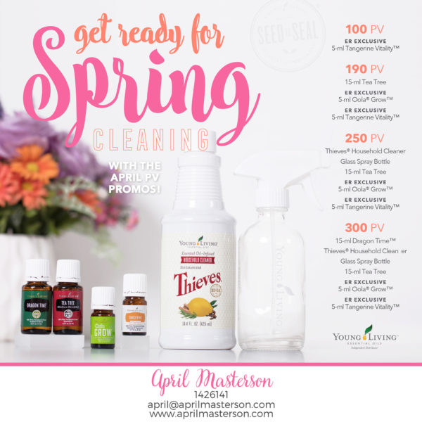 April 2017 Young Living Promotion