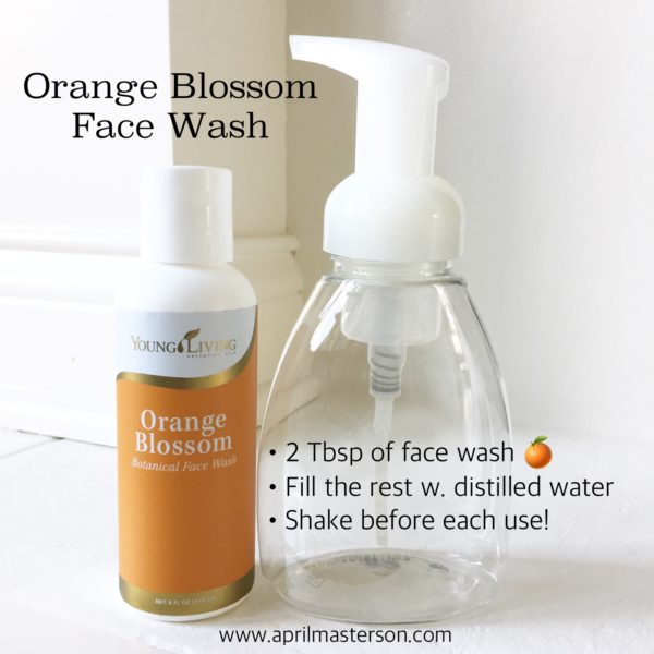 Orange Blossom Face Wash