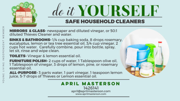 Toxin Free DIY Cleaners
