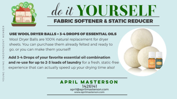 Toxin Free Fabric Softener