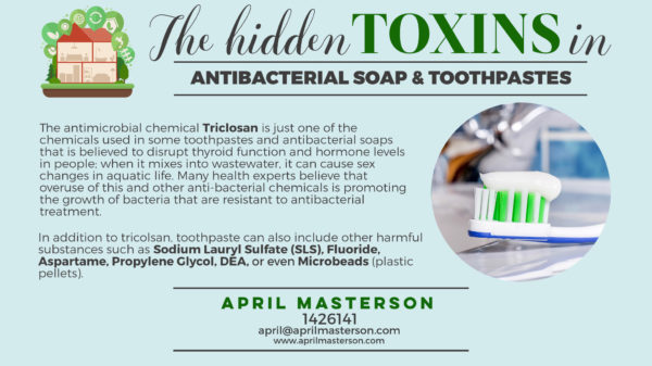 Toxins in soap
