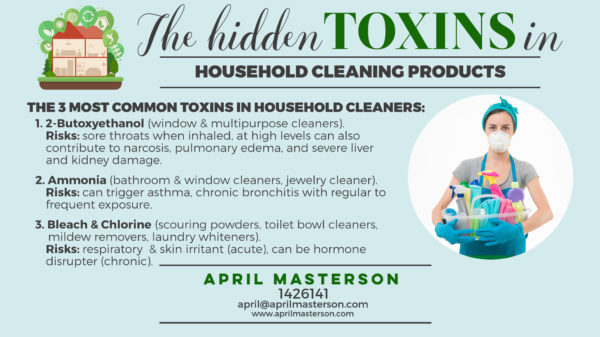 Toxins in household cleaners