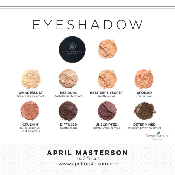 Savvy Eyeshadow from Young Living