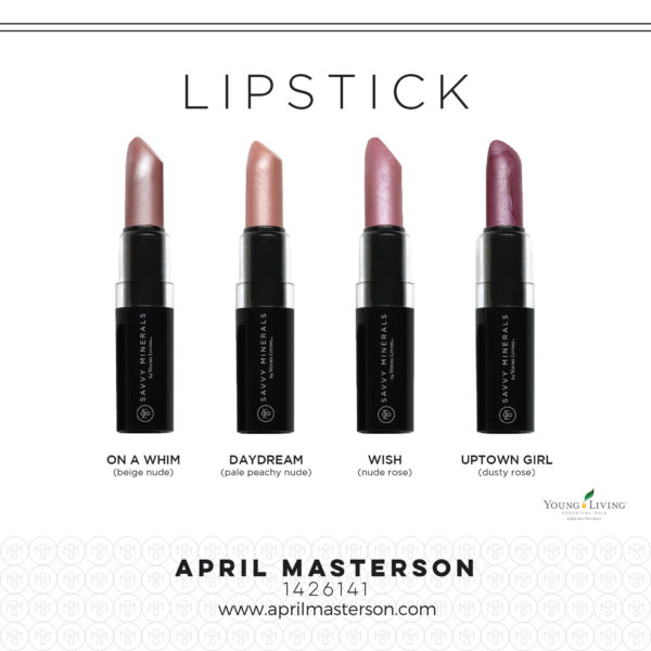 Savvy Lipstick from Young Living