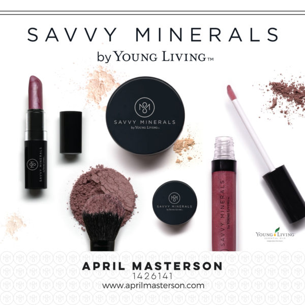 Young Living Savvy Minerals makeup line