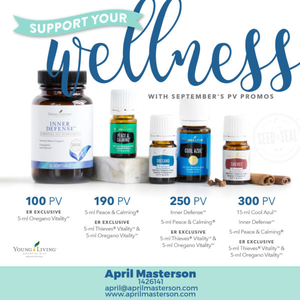 September 2017 Young Living Promotion